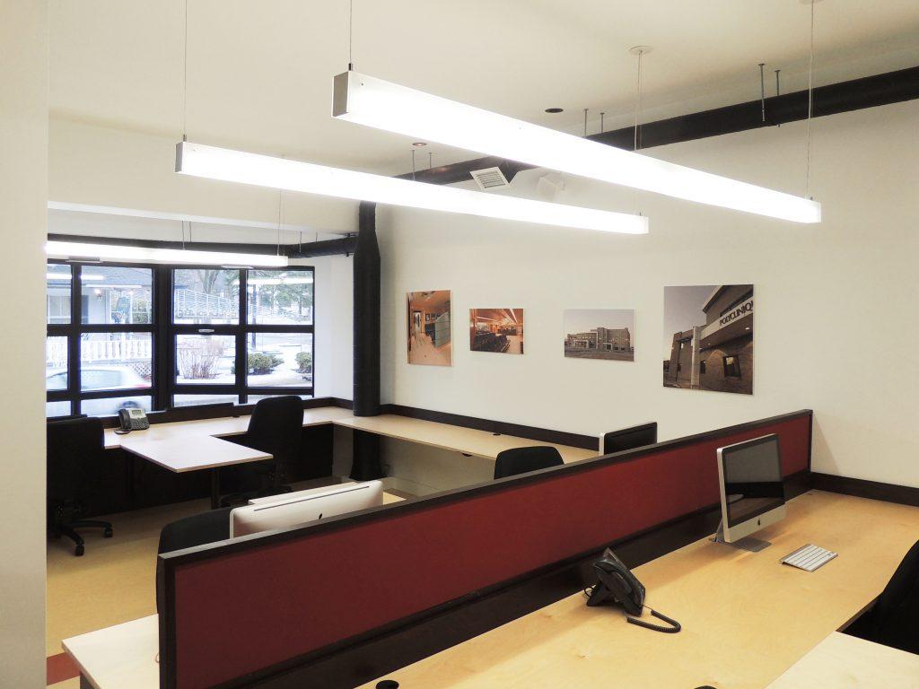 Bureaux de Cormier Lefebvre Architectes – Vaudreuil-Dorion