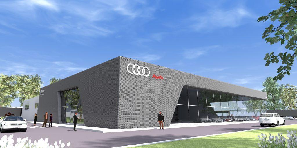 Concessionnaire automobile Audi (concept)