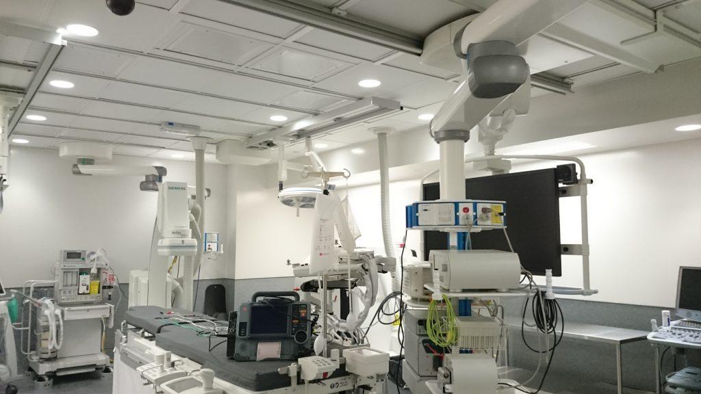 Aménagement d'une salle d'angiographie à guidage magnétique à l'Institut de Cardiologie de Montréal