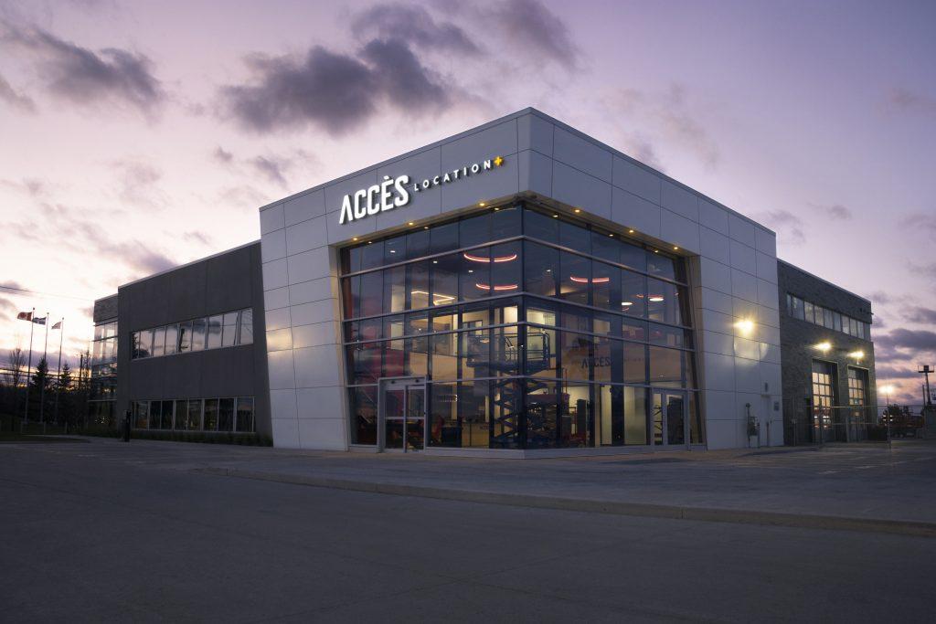 Accès-Location, nouveau siège social