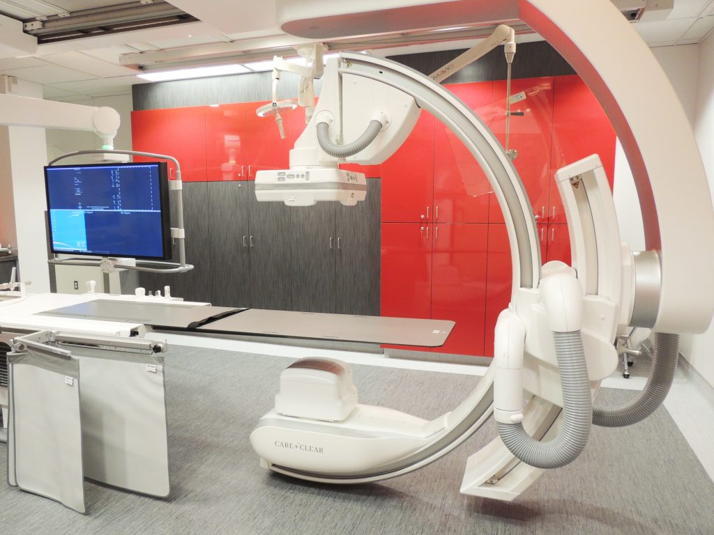 Réaménagement des salles d'IRM, de fluoroscopie et d'angiographie à l'Hôpital Charles-Le Moyne