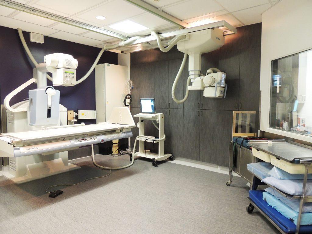Réaménagement du département de radiologie à l'Hôpital de Lachine