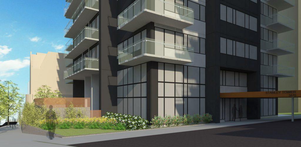 Refection des façades – appartements stanley tower